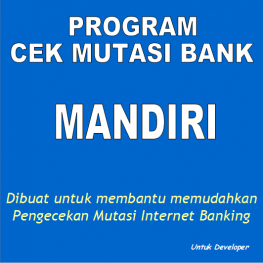 cek mutasi bank