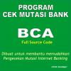 program cek mutasi bank