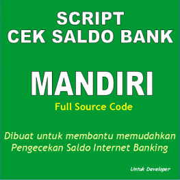 program cek saldo bank