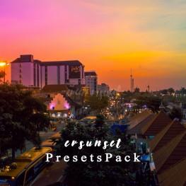 fotografisunsetpreset lightroomevan visualrainbow sunset preset