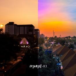 fotografisunsetpreset lightroomevan visualrainbow sunset preset 2
