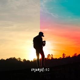 fotografisunsetpreset lightroomevan visualrainbow sunset preset 5
