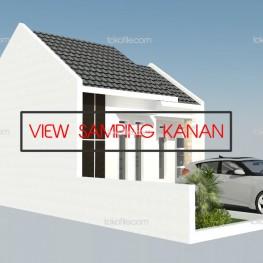 desain rumah type 30 3