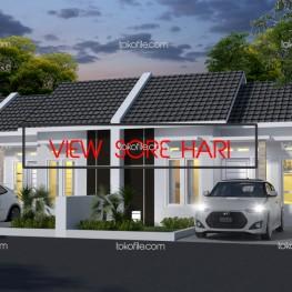 desain rumah type 30 6